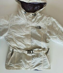 Women's The North Face 550 Padded Jacket Coat with Belt Size XS  Hooded