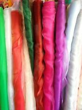Unbranded Organza by the Metre Craft Fabrics