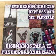 Funda CARCASA de GEL PERSONALIZADA para HUAWEI P9 LITE FLEXIBLE PERSONALIZAR