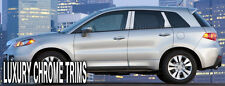 Acura RDX Stainless Steel Chrome Pillar Posts by Luxury Trims 2007-2012 (6pcs)
