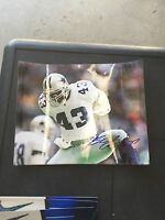 Greg Briggs  8x10 autographed Photo  Dallas Cowboys Gameday Holo
