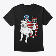 4th Of July Pit Bull Lover Gift Hanes Tagless Tee T-Shirt
