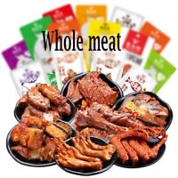 Chinese Snack box Asian korean 37PCS Whole meat local specialty duck neck vacuum