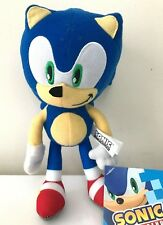 "Sonic the Hedgehog 8"" Plush Stuffed Animal .Licensed .Kids Toy. New"