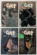 Batman: The Cult (1988 DC Comics) 1 2 3 4 (of 4) Full Set Wrightson & Starlin