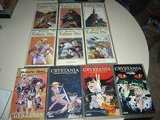 VHS LODOSS WAR+ CRYSTANIA COMPLETO ANIME INEDITO DVD YAMATO HENTAI OAV OVA