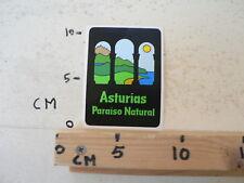 STICKER,DECAL ASTURIAS PARAISO NATURAL