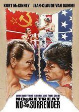 No Retreat No Surrender (1986) (2017, DVD New)