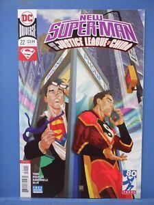 New Super-Man Justice League China #22 Variant  D.C. Comics CB22575