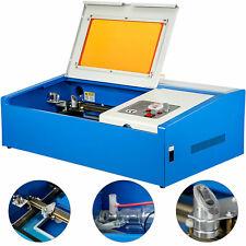 40W USB Laser Engraver Cutter Engraving Cutting Machine Laser Printer CO2 12*8