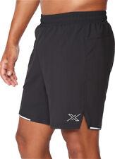 2XU Aero Pantalones cortos de hombre para correr 7 pulgadas-Negro