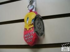 Tweety Fabric Keychain * NEW * Applause * Soundless