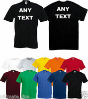 Personalised t-shirt With Your Design Custom Printed