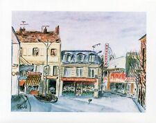 DRAVEIL - Carte postale couleurs neuve - 109 avenue Henri Barbusse + M. PORTE