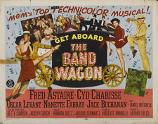 The band wagon Fred Astaire Cyd Charisse movie poster print