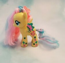 """My Little Pony Rainbow Power Fluttershy G4 3"""" Brushable Yellow Pink Blue UNIQUE"""