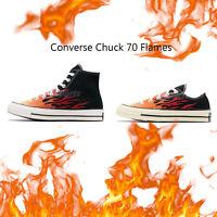 Converse First String Chuck Taylor All Star 70 Flames Hi Low Men Women Pick 1