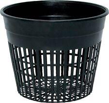 "Hydrofarm Mesh Net Heavy Duty Pot 5"" - 10 Pack - hydroponics aeroponics cup"