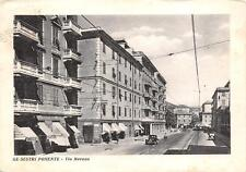 3870) SESTRI PONENTE (GENOVA) VIA MERANO, VIAGGIATA NEL 1951.
