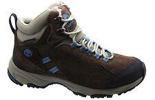 Stivali, anfibi e scarponcini da uomo Timberland in camoscio marrone