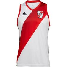 River Plate Football - Basketball Vest by Adidas - Size Large - BNWT
