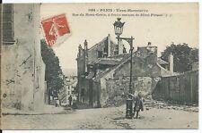 CPA -75- PARIS - Vieux Montmartre - Rue du Mont Cenis à droite la maison de Mimi