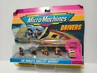 Vintage Micro Machines Drivers Limited Edition Sealed Galoob