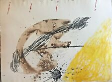 Antoni Tapies - Etching and Aquatint - Signed in Pencil and annotated PA