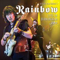 RITCHIE BLACKMORE'S RAINBOW - LIVE IN BIRMINGHAM 2016  2 CD NEU