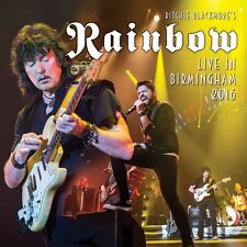 RITCHIE BLACKMORE'S RAINBOW - LIVE IN BIRMINGHAM 2016  2 CD NEU