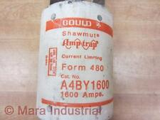 Gould A4BY1600 Shawmut Amp-Trap Fuse Tested
