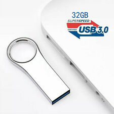 32GB USB3.0 Flash Drive Memory Stick Metal Pendrive U Disk High-Speed PC Laptop
