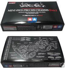 NEW TAMIYA MINI 4WD LIMITED EDITION PRO MS CHASSIS EVO I 95263 JAPAN MADE RARE 1