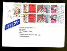 Netherlands 2009 Airmail Cover To UK #C1340