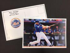 Neil Walker New York Mets 2017 Major League Baseball 4x6 Postcard Series 1