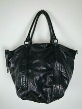 Abro Made In Italy Extra Large Leather Shoulder Bag Excellent