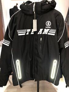 SALE! Bogner Team T insulated Mens Winter Ski Jacket Size EU 50 40 US L black