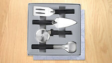 RADA CUTLERY G250 ULTIMATE UTENSIL GIFT SET 3 PIECE BLACK HANDLE MADE N USA 1562