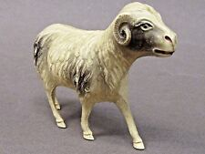 "1930's BIG HORN SHEEP 3"" long celluloid MADE IN USA animal VISCOLOID"