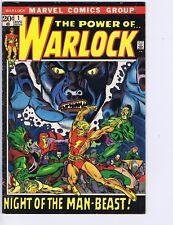 Warlock #1 Marvel 1972