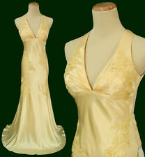 Alex & Sopkia Prom Cruise Formal size 9 Banana Long Gown Evening Dress Bridemaid