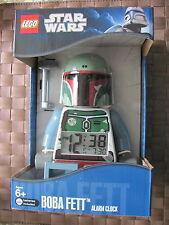 Lego STAR WARS 9003530 Boba Fett Wecker Digital Uhr Clock Neu u. OVP