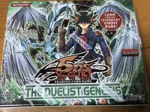 Yu-Gi-Oh Box The Duelist Genesis Rice Version English New from japan