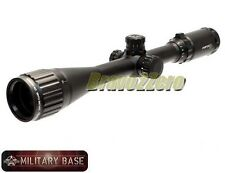 SNIPER Center Point 4-16x40 Explore Class Red Green Mil-Dot AO Rifle Scope