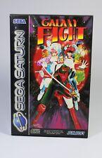 GALAXY FIGHT für Sega Saturn Spiel mit OVP ohne Anleitung