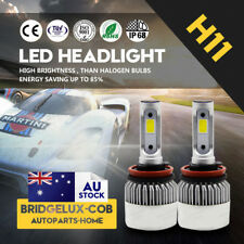 2X H11 H8 H9 LED Headlight Kit Light Bulbs White Replace Halogen 500W 48000LM