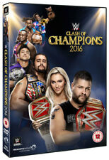 WWE: Clash of Champions 2016 DVD (2016) Kevin Owens ***NEW***