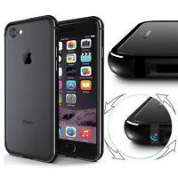NEW ! Luxury Slim Aluminum Metal Bumper Clear Case Cover For iPhone 6 6s 7 Plus