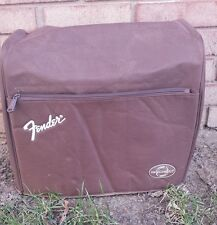 Fender GDEC amp brown cover padded pocket p/n 006-9720-000 genuine G-DEC small