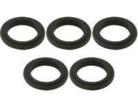 5 Black 17mm x 5mm Alloy Wheel Spacers Prokart Cadet  UK KART STORE